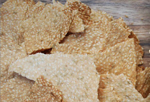 Paleo Savoury Crackers