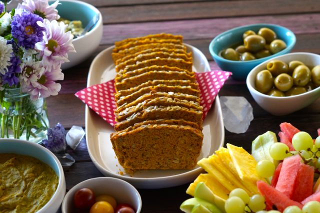 natural real food pumpkin bread