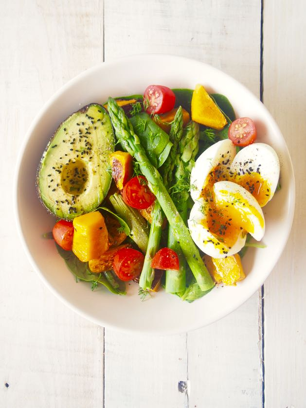 delicious healthy breakfast salad