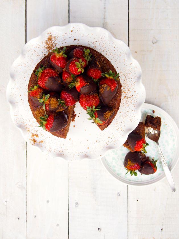low fructose gluten free chocolate cake