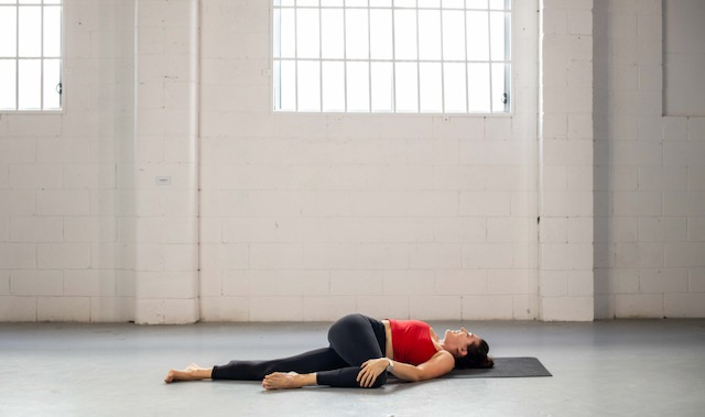 Yoga to reduce inflammation with twists